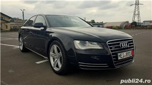 Audi A8 3.0TDI-258 CP 2011 RAR efectuat Xenon Full Led Navi Piele Zoll - imagine 1