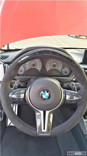 BMW M4, echipare MPerformance fabrica, culoare deosebita Sakhir Orange - imagine 11