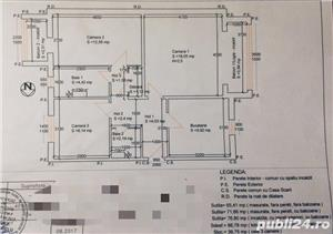 PROPRIETAR vand apartament 3 camere cf1 Calea Lipovei - imagine 18