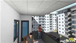 Apartament 2 camere , 58 mpu , zona MIlitari sector 6 - imagine 2
