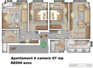 Apartament 4 Camere, Titan, Pallady - imagine 7