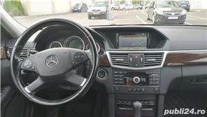 Mercedes E220 CDI, Blue Efficiency intretinut la reprezentanta, full option,  9.400 EUR - imagine 6