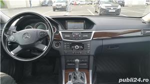 Mercedes E220 CDI, Blue Efficiency intretinut la reprezentanta, full option,  9.400 EUR - imagine 8