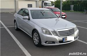 Mercedes E220 CDI, Blue Efficiency intretinut la reprezentanta, full option,  9.400 EUR - imagine 1