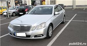Mercedes E220 CDI, Blue Efficiency intretinut la reprezentanta, full option,  9.400 EUR - imagine 4