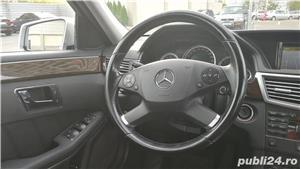 Mercedes E220 CDI, Blue Efficiency intretinut la reprezentanta, full option,  9.400 EUR - imagine 10
