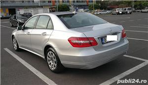 Mercedes E220 CDI, Blue Efficiency intretinut la reprezentanta, full option,  9.400 EUR - imagine 5