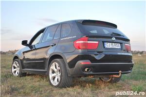 Vand BMW X5, 3.0D, din 2009, gentile pe 20, cauciucurile late o fac foarte stabila; 144000 km - imagine 6