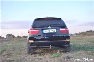 Vand BMW X5, 3.0D, din 2009, gentile pe 20, cauciucurile late o fac foarte stabila; 144000 km - imagine 8