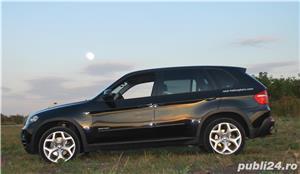 Vand BMW X5, 3.0D, din 2009, gentile pe 20, cauciucurile late o fac foarte stabila; 144000 km - imagine 2
