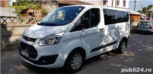 Ford Transit Custom 8+1 59000km Euro6 - imagine 1