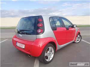 Smart ForFour Passion 1.5 DCI 2005 Klima Jante Trapa Panoramica Red ! - imagine 7