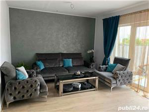 Proprietar vand casa/ vila lux, cu 4 camere,mobilata Timisoara-Giroc- Chisoda 152000 Euro - imagine 3