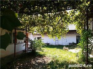 Proprietate compusa din casa, bucatarie de vara, grajd si anexa din lemn - imagine 2