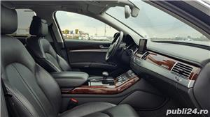 Audi A8 3.0TDI-258 CP 2011 RAR efectuat Xenon Full Led Navi Piele Zoll - imagine 14
