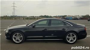 Audi A8 3.0TDI-258 CP 2011 RAR efectuat Xenon Full Led Navi Piele Zoll - imagine 16