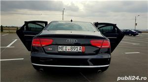 Audi A8 3.0TDI-258 CP 2011 RAR efectuat Xenon Full Led Navi Piele Zoll - imagine 18