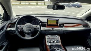 Audi A8 3.0TDI-258 CP 2011 RAR efectuat Xenon Full Led Navi Piele Zoll - imagine 11