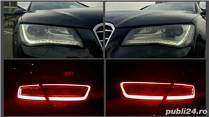Audi A8 3.0TDI-258 CP 2011 RAR efectuat Xenon Full Led Navi Piele Zoll - imagine 15
