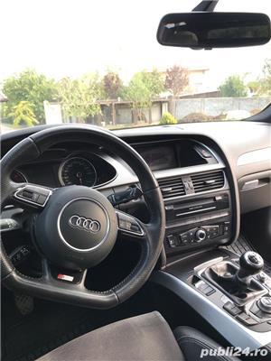 Audi A4 b8 avant s-line 177cp, panoramic,2013  - imagine 4