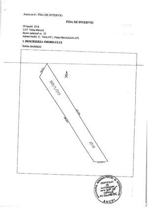 Vând 1,5 ha teren arabil în comuna Valea Mărului, sat Mândrești, jud. Galați - imagine 7