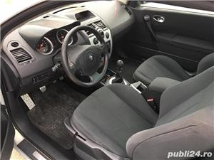 Renault Megane Cabrio Karmann 1.9 DCI // 6+1 Trepte // Panoramic - imagine 10