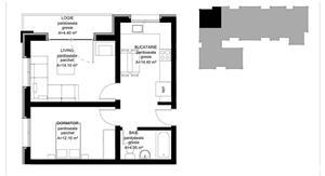 Apartament NOU 2 camere de vanzare zona Calea Cisnadiei Sibiu - imagine 2