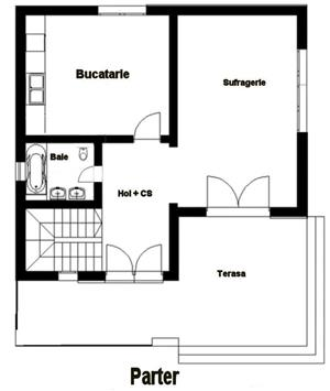 Proiect tehnic de executie casa 125 mp utili (fara terase si balcoane) - imagine 5