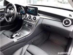 Mercedes-benz Clasa C C 220 d 4MATIC trapa burmester multibeam led camere 360 keyless go comand  - imagine 18