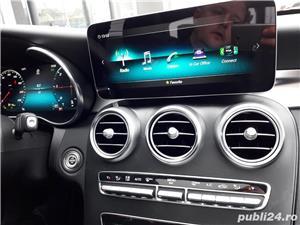 Mercedes-benz Clasa C C 220 d 4MATIC trapa burmester multibeam led camere 360 keyless go comand  - imagine 16