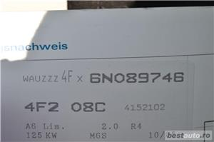 Audi A6 an:2006=avans 0 % rate fixe aprobarea creditului in 2 ore=autohaus vindem si in rate - imagine 18