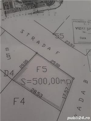 Teren intravilan 500 mp - imagine 1
