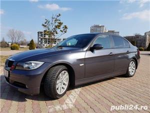 BMW 318d E90 Navigatie mare/piele - imagine 3