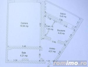 Apartament cu o camera in zona Girocului. - imagine 8