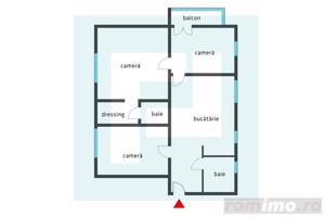 Cauți un apartament de 3 camere cu grădină? Suna-ma! - imagine 8