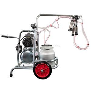 Aparat de muls vaci / Mulgatoare cu 1 post si 1 bidon 30l aluminiu - imagine 3