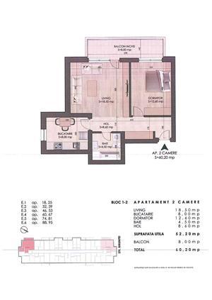 Apartament 2 camere decomandate metrou Dim. Leonida - imagine 8