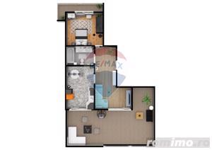 Apartament | 2 camere | Balcon- 9.5 mp | DEZVOLTATOR - imagine 2
