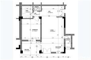 Apartament 2 camere, Tip 1, etajul 1 3, Balanta Residence Sibiu - imagine 5