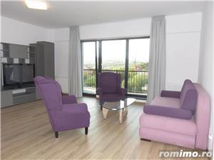 Apartament 2 camere nou mobilat si utilat, 64mp+balcon 10mp, garaj subteran - imagine 3