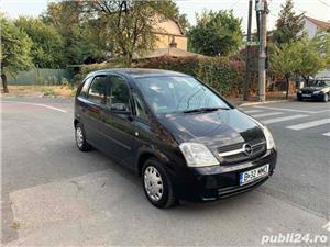 Opel Meriva 1.6 8V 90cp + GPL omologat unic propietar FULL  - imagine 2