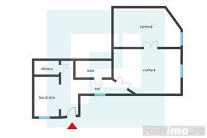 Apartament 2 camere la casă, zonă centrală - imagine 6