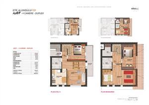 Vanzare apartament duplex LUX Brancoveanu bloc NOU - imagine 2