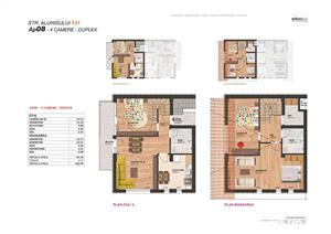 Vanzare apartament duplex LUX Brancoveanu bloc NOU - imagine 3