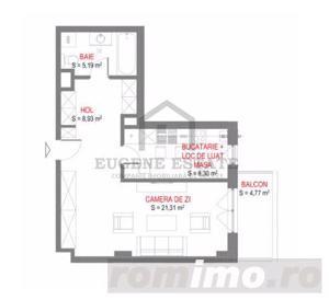 PREMIUM ! Apartament 1 camera decomandat TOP - imagine 2