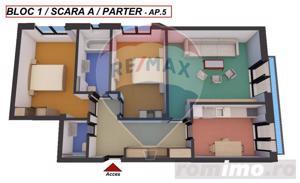 Apartament nou | 3 camere | 80.7 mpu | Comision 0% - imagine 2