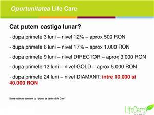 Castiga lunar pe card peste 5000lei cu Life Care ! - imagine 4