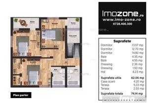 Casa / Vila, finisata la cheie, 4 camere, 3 bai, 110 mp, sector 5, comision 0% - imagine 16