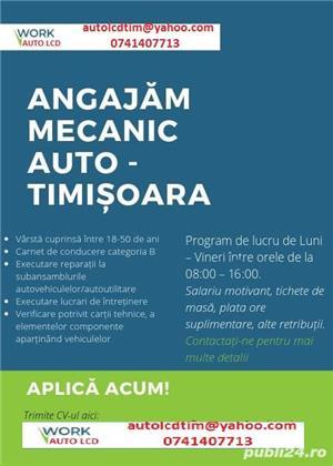 Angajam mecanic auto in Timisoara - imagine 1