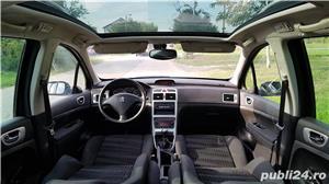 Peugeot 307 din 2009,sapte locuri,panoramic,motor 1.6HDI,consum 5%,nr rosii valabile ianuarie 2019 - imagine 5